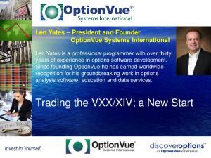 XIV; a New Start