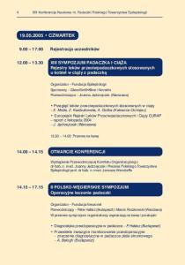 XIX Konferencja Naukowa nt. Padaczki Polskiego Towarzystwa Epileptologii