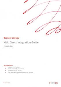 XML Direct Integration Guide