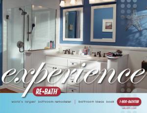 xperience world s largest bathroom remodeler bathroom ideas book rebath.com