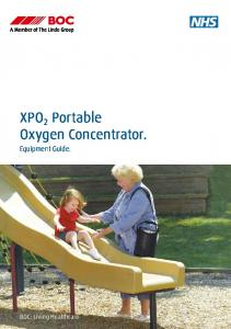 XPO 2 Portable Oxygen Concentrator