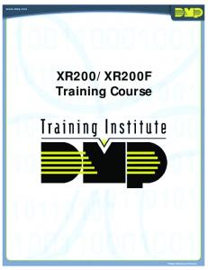 XR200F Training Course
