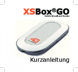XSBox GO Mobile Broadband Router
