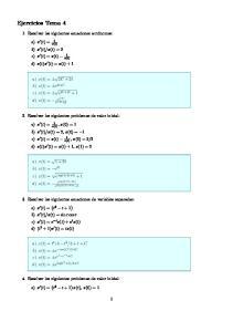 x(t) = 2 c) x (t) = x(t) 1. d) x(t)x (t) = x(t) + 1