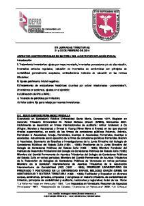 XVI JORNADAS TRIBUTARIAS 21 y 22 DE FEBRERO DE 2014