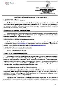 XXI CONCURSO DE ESCAPARATES DE NAVIDAD 2015