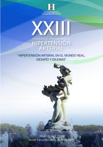 XXIII CONGRESO ARGENTINO DE