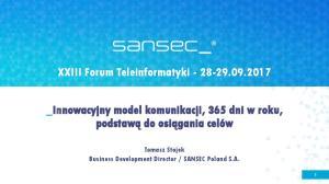 XXIII Forum Teleinformatyki