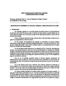 XXIV JORNADAS DE DERECHO LABORAL I JORNADAS RIOPLATENSES