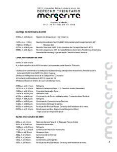 XXIV jornadas latinoamericanas de DERECHO TRIBUTARIO