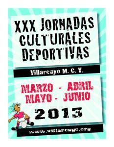 XXX JORNADAS CULTURALES DEPORTIVAS