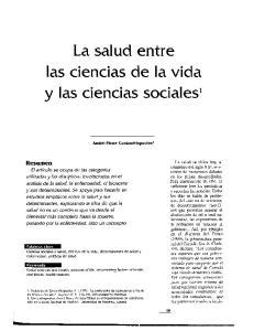 y las ciencias sociales'