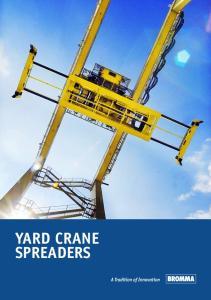 yard crane spreaders