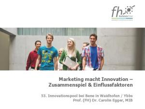 Ybbs Prof. (FH) Dr. Carolin Egger, MIB