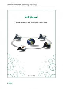 Yealink Redirection and Provisioning Service (RPS)