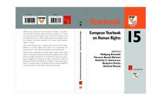 Yearbook. European Yearbook on Human Rights YB 15