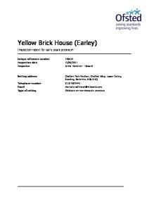 Yellow Brick House (Earley)