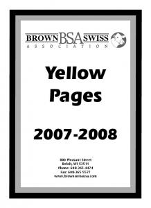 Yellow Pages Pleasant Street Beloit, WI Phone: Fax: