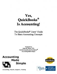Yes, QuickBooks Is Accounting!