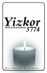 Yizkor. Book of Remembrance
