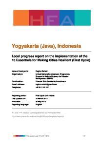 Yogyakarta (Java), Indonesia