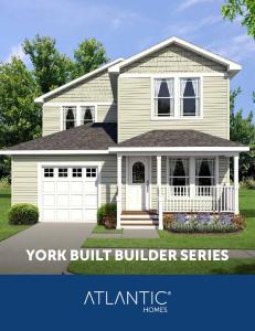 YORK BUILT BUILDER SERIES