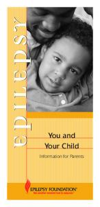 You and Your Child. Information for Parents