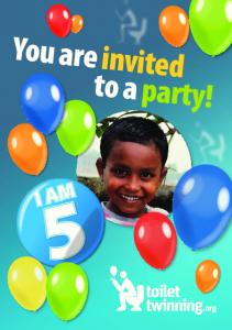 You are invited to a party!