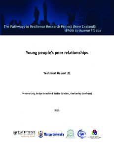 Young people s peer relationships