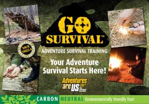Your Adventure Survival Starts Here!
