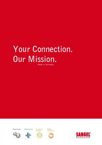 Your Connection. Our Mission. Made in Germany