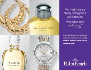 Your customers are already buying jewelry and fragrances. Why not let them buy from you?