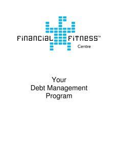 Your Debt Management Program