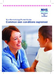 Your Dermatology Pocket Guide: Common skin conditions explained