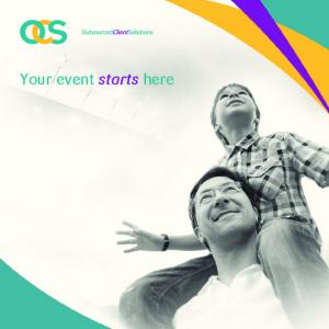 Your event starts here