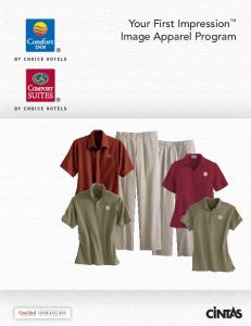 Your First Impression Image Apparel Program