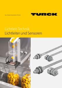 Your Global Automation Partner. Lichtleit-Technik Lichtleiter und Sensoren