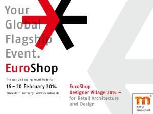 Your Global Flagship Event. EuroShop