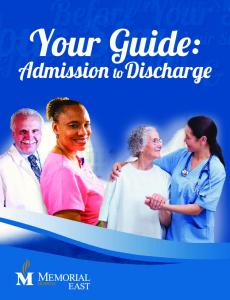 Your Guide: Admission to Discharge