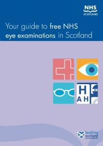 Your guide to free NHS eye examinations in Scotland