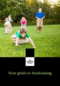 Your guide to fundraising