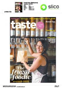 your guide to great food & drink press clip