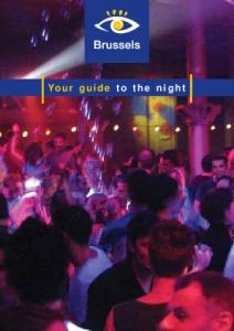 Your guide to the night