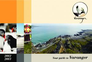 Your guide to Varanger
