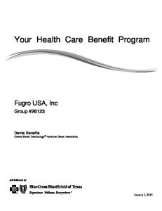 Your Health Care Benefit Program