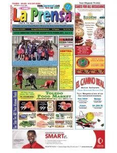 Your Hispanic Weekly FREE! Ohio & Michigan s Oldest & Largest Latino Weekly
