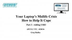 Your Laptop s Midlife Crisis How to Help It Cope
