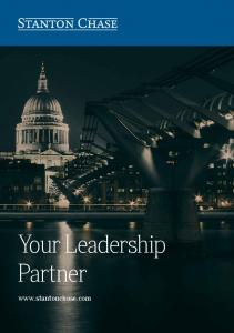 Your Leadership Partner