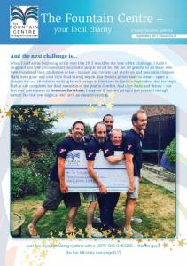 your local charity Charity Number September 2015 Issue No.18