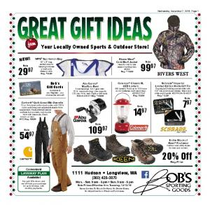 Your Locally Owned Sports & Outdoor Store!